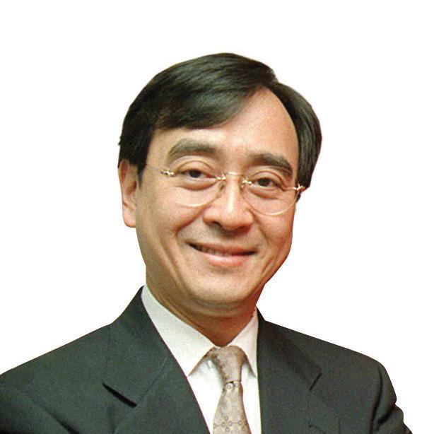 香港大學商學院院長-王于漸湯炳強攝